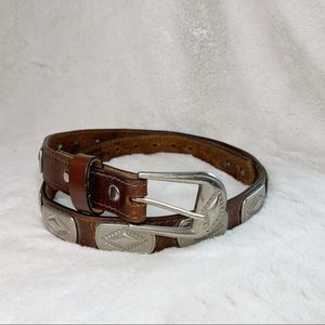 Accessories - Western Riding Cowgirl Concha Belt